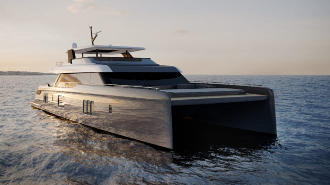Rafa Nadal is among the first buyers of the 80 Sunreef Power, premiered a year after the Sunreef 80 sailing catamaran starred at Cannes last September