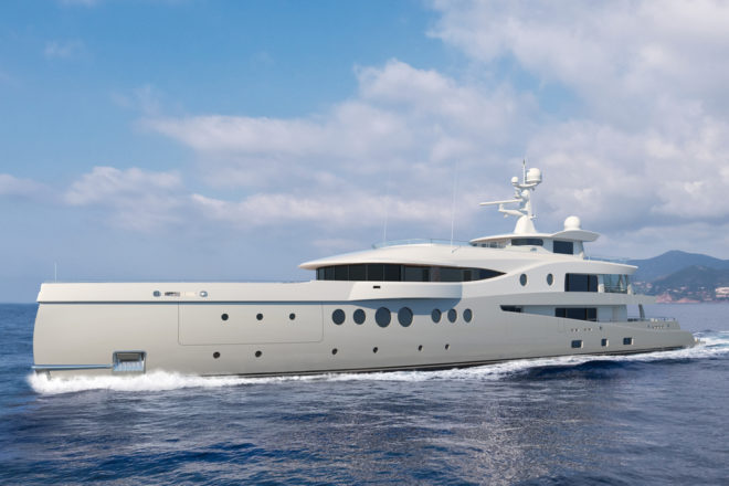 An owner from the Asia-Pacific region has bought the in-build Amels 206