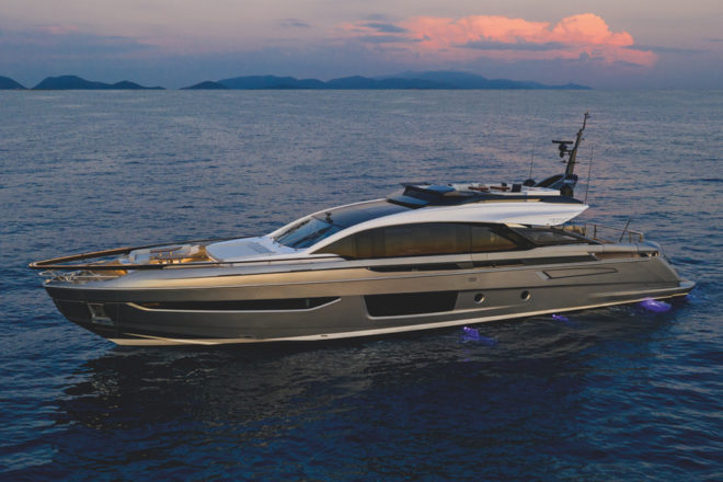 Azimut will show the Grande S10 after its world premiere at Cannes