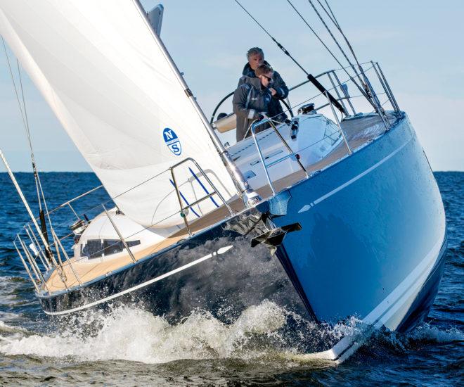 Swan 48 sailing yacht
