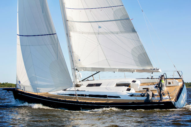 Designed by the legendary German Frers, the Swan 48 is the smallest model in the Finnish builder's Swan Yachts range