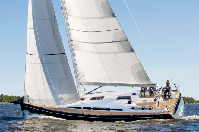 The Swan 48 is another world premiere at Cannes and is another exclusive review in Yacht Style
