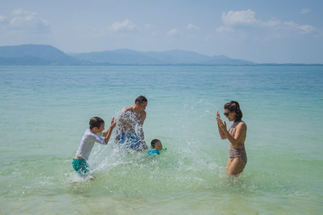 The family that plays together stays together; Photos: Simpson Yacht Charter