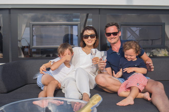 With the right yacht, crew and itinerary, a family charter is champagne sailing