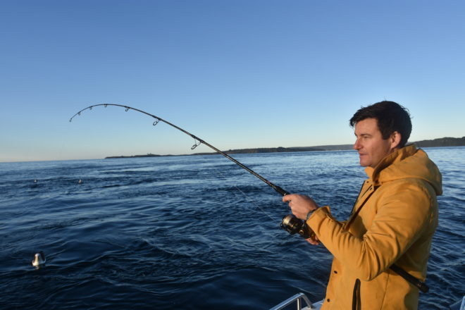 Gayford is a sport fisher, an environmental advocate and the fiancé of Prime Minister Jacinda Adern