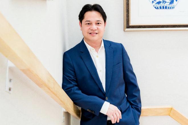 Napong Paripontpochanapisuti, Managing Director of Ocean Property, organiser of Ocean Marina Pattaya Boat Show