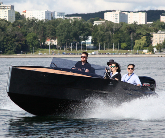 D-Boat Diamond 550, Gdynia
