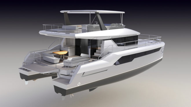 Leopard catamarans are built by Robertson & Caine in Cape Town