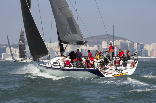 Skippered by Russ Parker, FreeFire was confirmed in Nha Trang as IRC Overall winner