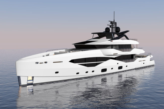 The aluminium-hulled Sunseeker 161 Yacht will be built by Icon in the Netherlands and is scheduled to launch in September 2022