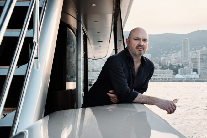 Sergei Dobroserdov, CEO of Dynamiq, which builds Dutch-engineered yachts in Italy and has an Asian ambassador