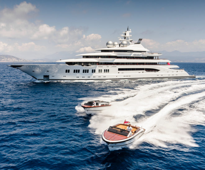 Lurssen Amadea for sale with Imperial