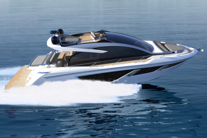 The 65 Sport Yacht features a 'sky helm' option and is set for autumn 2020