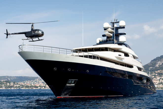 Tranquility is a 91.5m Oceanco build, recently based in Malaysia