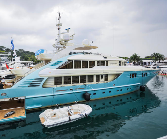 Aquamarina, Singapore Yacht Show, ONE ̊15 Marina, Sentosa Cove