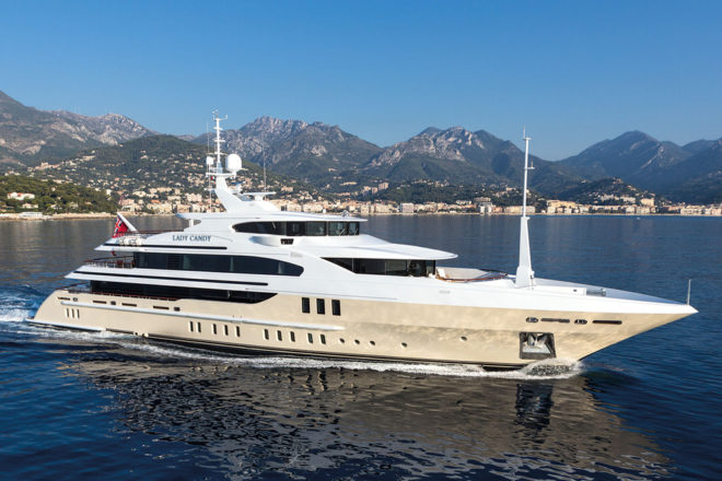 Top 100 Superyachts of Asia-Pacific 2020: No. 61, Lady Candy