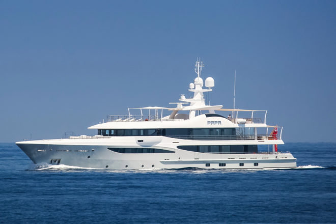 Top 100 Superyachts of Asia-Pacific: No. 68, Papa