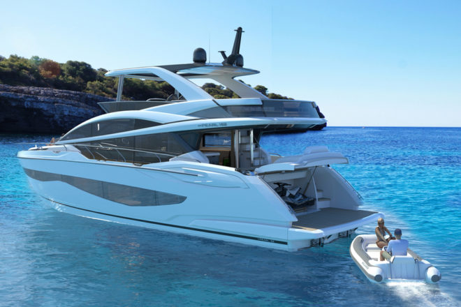 The Pearl 62 is designed for an active lifestyle on the sea, but also has four cabins