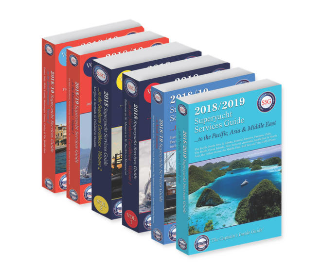 Superyacht Services Guide covers