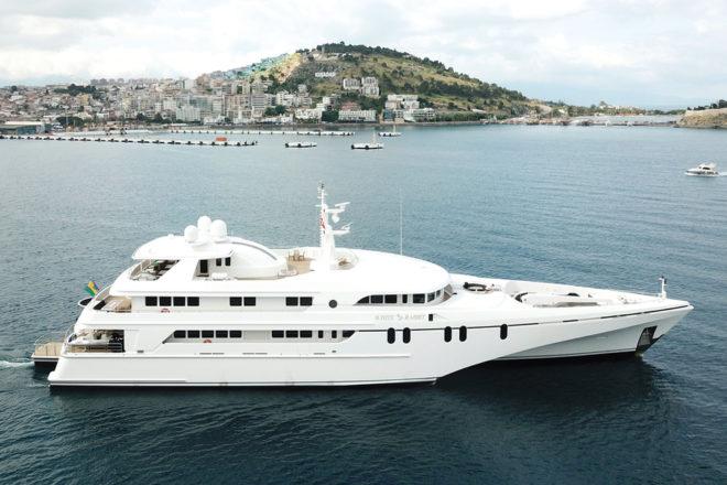 Top 100 Superyachts Asia-Pacific: 41, White Rabbit E