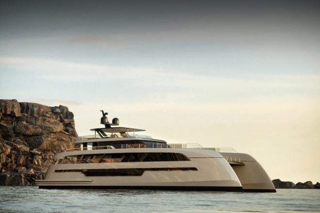 The first Sunreef 110 Power is scheduled for delivery in late 2021