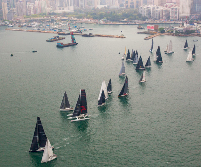 Rolex China Sea Race 2018