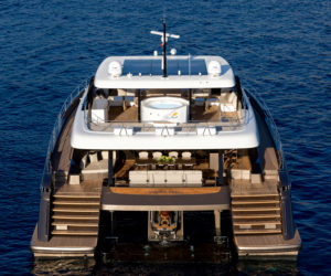 The Sunreef 80 Power world premiere was held at Cannes last September
