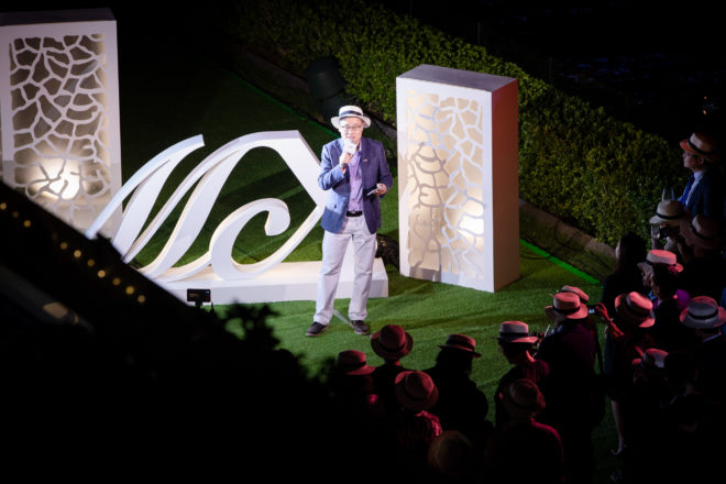 Beneteau Group: Franklin Heng, Chairman of Asia Yachting, at a Monte Carlo Yachts party in Hong Kong