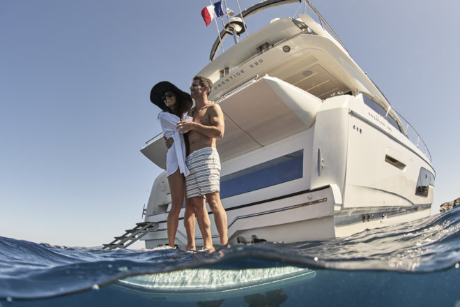 Beneteau Group's Prestige is one of France's premier motor yacht brands