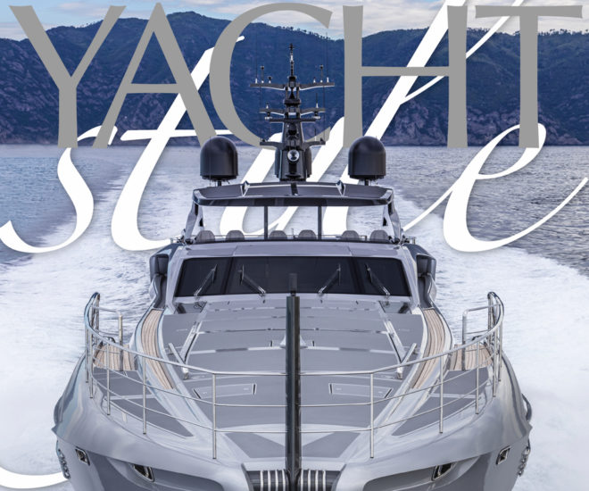 Yacht Style Issue 51; Pershing 140 cover photo