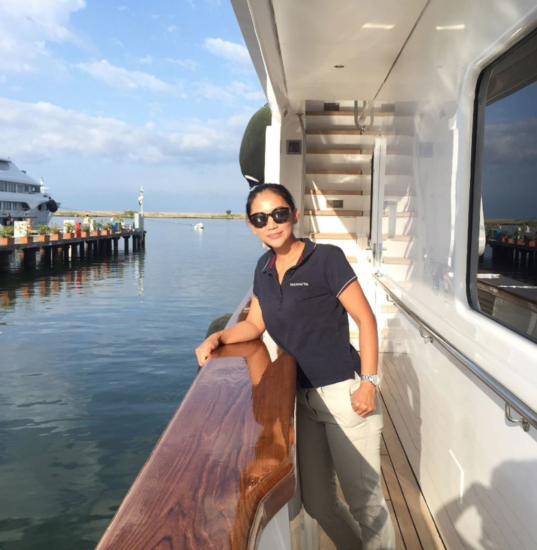 Thess Hookway, superyacht chef, CuisineandMoi