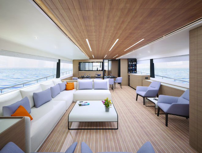 A rendering of the interior of the CLB88, which is set to launch in early 2020