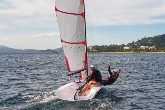 Subic Bay is a renowned sailing destination and home to the active Subic Sailing Club
