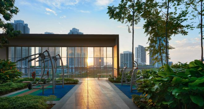 Health park located at Southern Marina Residences, Johor, Malaysia