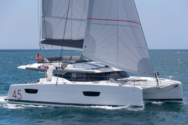 A Fountaine Pajot Elba 45 sailing catamaran is arriving in Indonesia in 2020