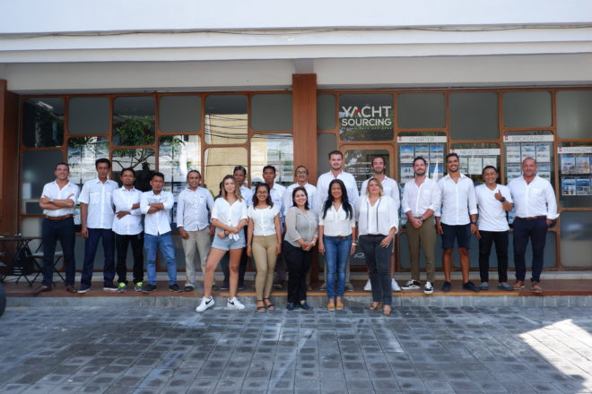 Yacht Sourcing took the opportunity to double the size of its Bali headquarters in late 2019; the company also has offices in Jakarta, Flores and Phuket