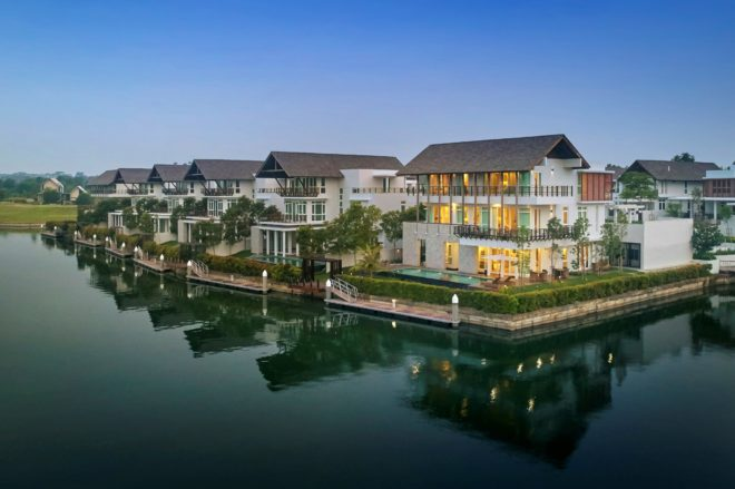 The Island Waterfront Villas at Emerald Bay