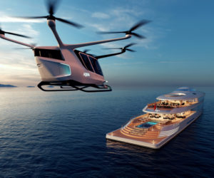 Bill Gates, 112m Aqua superyacht concept by Sinot