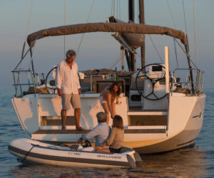 Dufour 520 sailing yacht