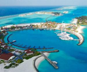 Crossroads Maldives marina for Yacht Style