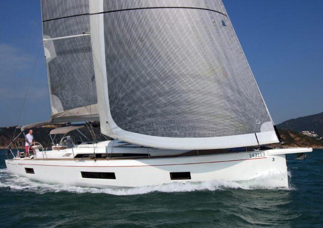 The Beneteau Oceanis 51.1 in Hong Kong for sale by Simpson Marine