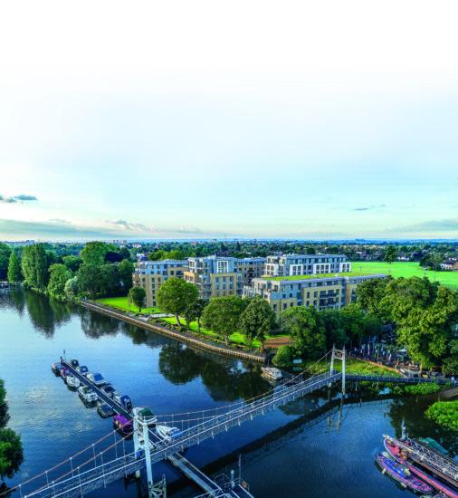 Teddington Riverside, Richmond Upon Thames, London, United Kingdom