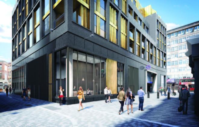 Tottenham Court Road West residences