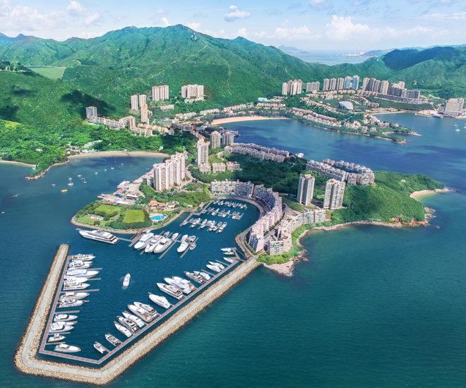 Lantau Yacht Club Marina, Discovery Bay, Hong Kong