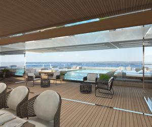 Sanlorenzo 62Steel main deck aft