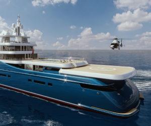 Sorgiovanni Designs 99m Frontier yacht concept