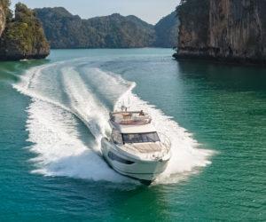 Prestige 420 motor yacht, Thailand, Asia Yachting