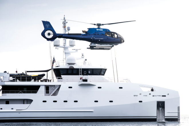 Support vessels such as Game Changer can carry out many complex tasks