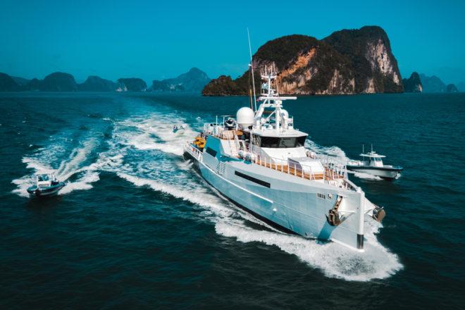 The Damen-built Support Vessel Umbra shows her extensive capabilities