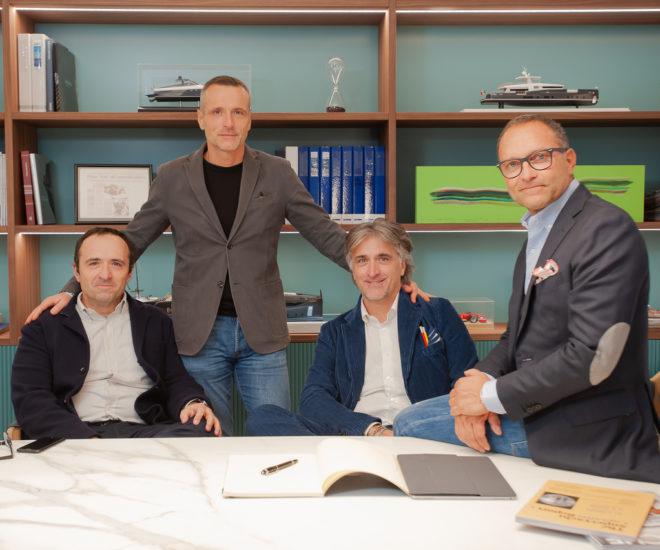 Massimo Antonini, Lorenzo Antonini, Simone Antonini and Aldo